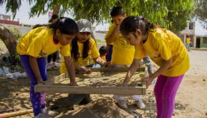taller pequeños arqueologos de chan chan